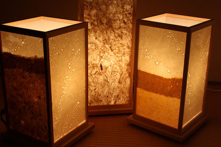 竹紙 間接照明 角シリーズ