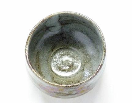 九谷焼通販 おしゃれな抹茶茶碗 抹茶碗 茶道具 ソメイヨシノ 桜 中の図