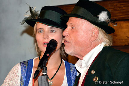 Raphaela und Georg Maier im Duett