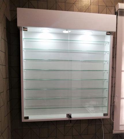 vitrina para exhibicion de esmaltes