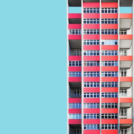 Hochhaus Bartningallee 16 Hans Schwippert Internationale Bauausteilung 1957 Hansaviertel Berlin