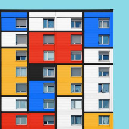 Wohnhaus Unionstraße Linz Mondrian Edit