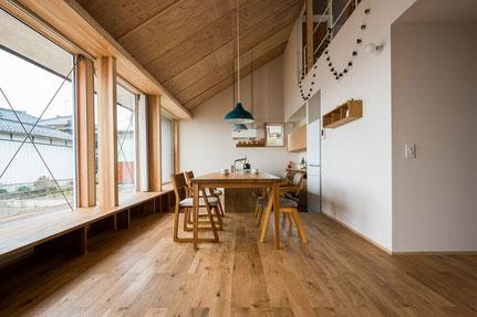 オーク 単板貼 フローリング 床暖房対応 andwood アンドウッド 無垢