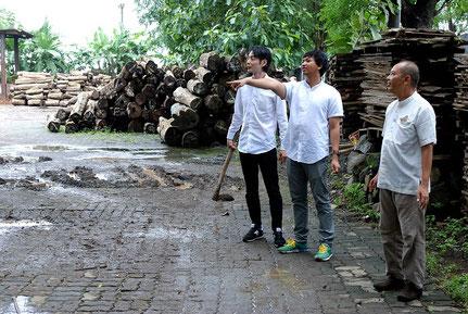 木材調達記 アンドウッド インドネシア 新潟 植林 次世代の素材