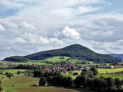 Blick auf Urnshausen