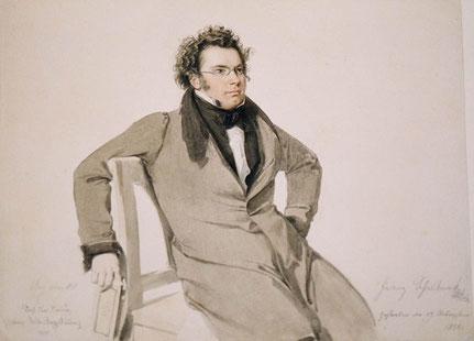Franz Schubert, Aquarell