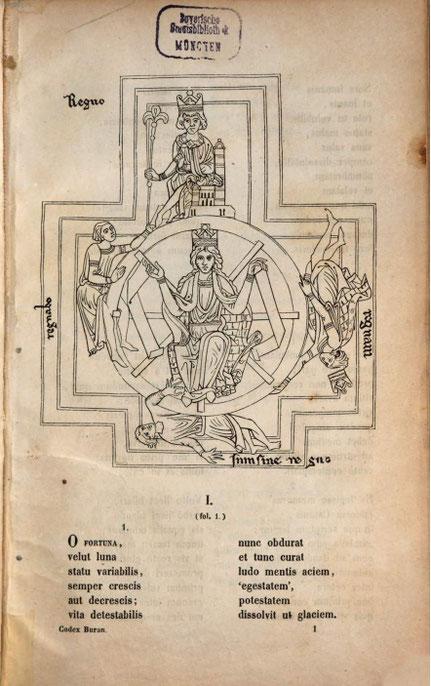 Johann Andreas Schmeller: Carmina Burana. 1847 – Bayerische Staatsbibliothek digital