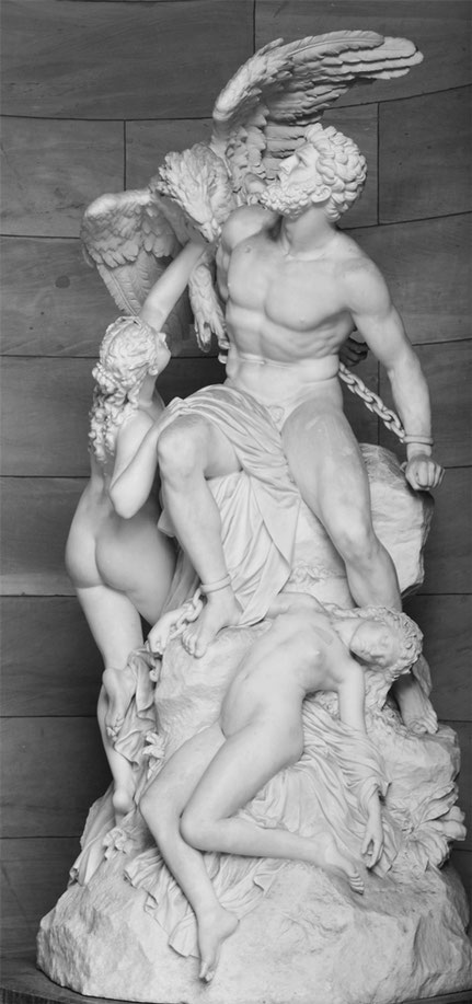 Reinhold Begas, Prometheus, Alte Nationalgalerie, Berlin