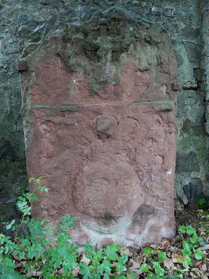 Grabstein einer unbekannten Person /  Foto: Thomas Schwab 2020