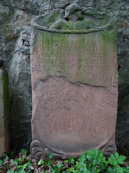 Grabstein von Johann Henrich Jenner