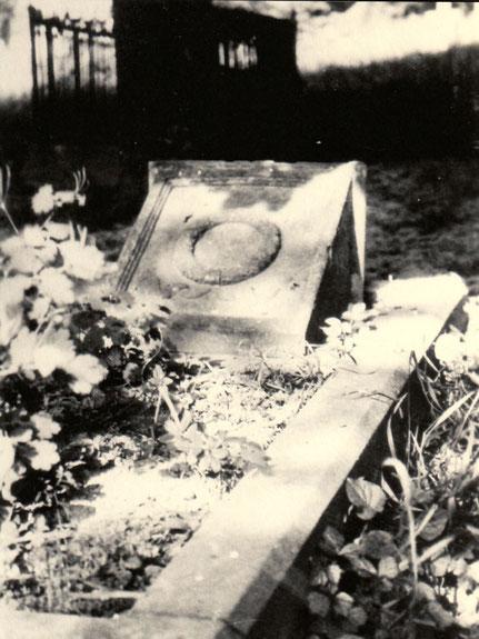 Grabstätte von Johann Christoph Schwab