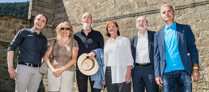 Philipp Achamer, Christine Mayer, Hartwig Thaler, Martha Stocker, Thomas Klapfer