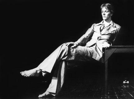 Susanne Linke Satie Urauffuehrung 1977 Lutz Foerster