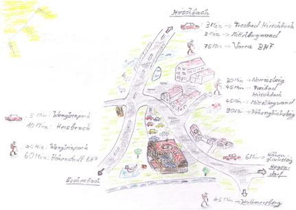 Norrissteig, Höhenglücksteig, Wengleinpark, Mittelbergwand, Vorra, Hohenstadt, Eschenbach, Hirschbach
