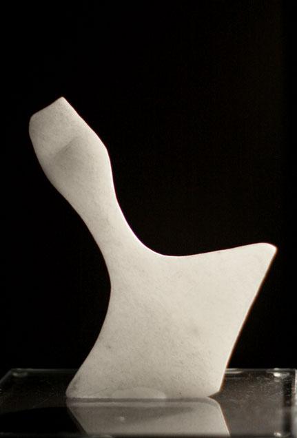 Heidrun Feistner: Le blanc souci de notre toile / Dritter Stein / Für Mallarmé / Engel der Geschichte / Foto HF