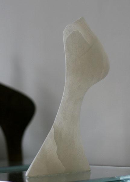 Heidrun Feistner: Le blanc souci de notre toile / Erster Stein / Für Mallarmé / Engel der Geschichte / Foto HF