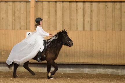 3 Nüsse für Aschenbrödel -  unsere jüngsten (Reiter und Pferd)