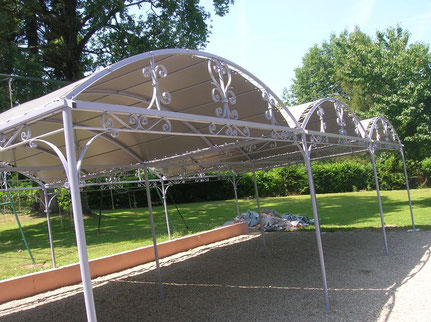 carport en aluminium pour voiture et camping car decofer alu pergolas en savoie is re. Black Bedroom Furniture Sets. Home Design Ideas