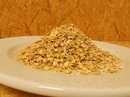 Gersten-, Mais-, Soja- und Triticaleflocken
