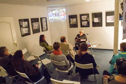 20.07.2017 - Vernissage zur Ausstellung Überzeichnet bei Frauenkreise Berlin