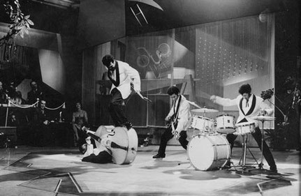 The Four Tielman Brothers in the movie Paprika (Germany 1958/1959)
