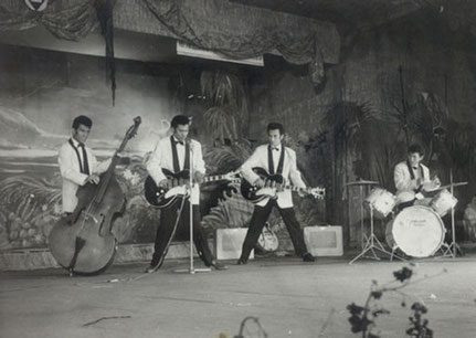 The Four Tielman Brothers at Hawaiian Village, Brussels 1958