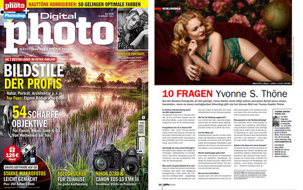 Interview mit Fotografin Yvonne Sophie Thöne im Digital Photo Magazin