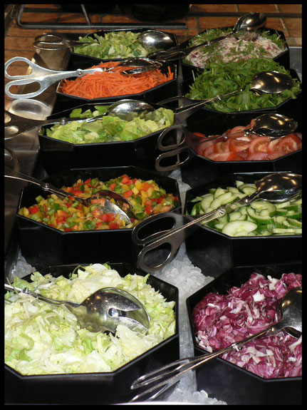 Salate haben eine hohe Nährstoffdichte