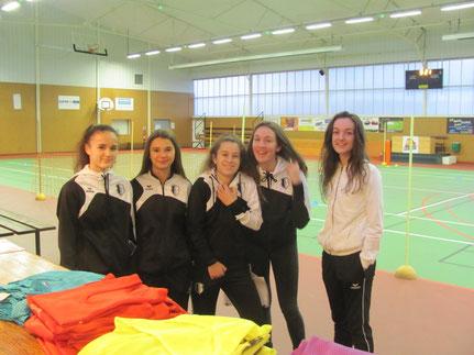 Les joueuses U18F du FCBR pour animer les ateliers