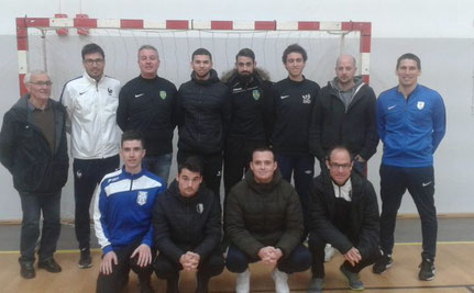 Dimitri Goudissard et Julien Pichaud étaient présents pour le FCBR
