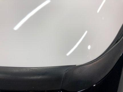 欧州車の細部洗浄処理