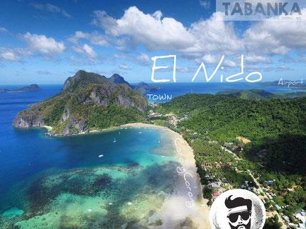 Drone view El Nido, Palawan, CorongCorong