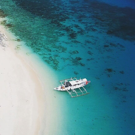 Scuba Diving Boat, Banca, Philippines