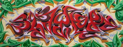 Graffiti Künstler Leipzig