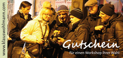 Gutschein für Coaching Workshops etc.