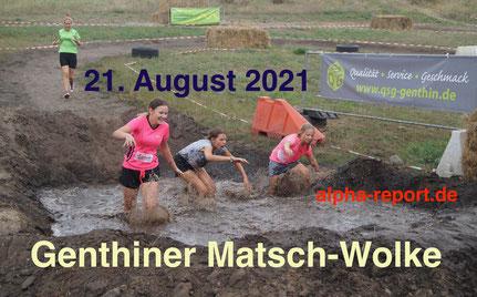 Als schlammige Herausforderung steigt die Matsch-Wolke am 21. August auf drei Strecken mit 20 Hindernissen.