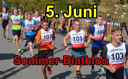 Endlich wieder Wettkampfsport: Sommerbiathlon in Genthin