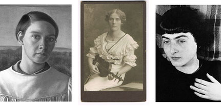 Fridel Dethleffs-Edelmann (1899-1962), Malerin | Margarete Schweikert (1887-1957), Komponistin | Ellen Auerbach (1906-2004) - Fotografin