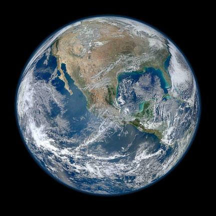 Vortrag Dr. Nitsch: Erde, Foto: NASA, Goddard, Creative-Commons-Licence