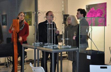 Ausstellung WHY KNOT? Sabine Schäfer