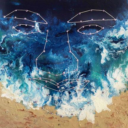 Ausstellung Wahr-nehmungen: Ina-Annette Hünnekens, AR re-cognition n-1 I, augmented reality with ARTIVIVE APP