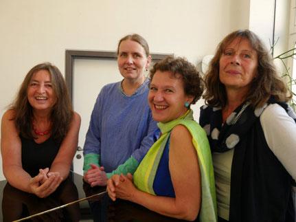 von li: Cornelia Gengenbach, Hanna Jüngling, Rita Huber-Süß, Ursula Zetzmann