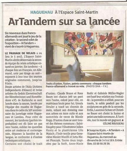 Presse ArTandem, Haguenau