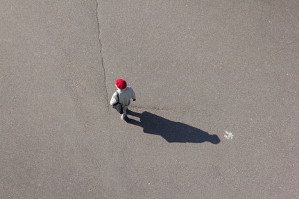 Astrid Hansen, Fotografie aus der Serie 'Seen from above'