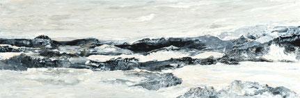 Verok Gnos, Galets, AluDibond, 27 x 80 cm