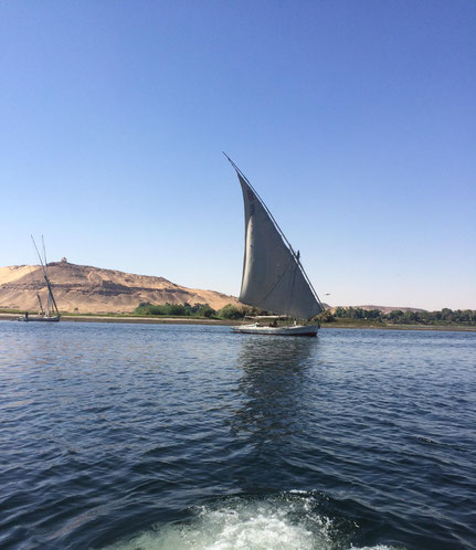 Private sunset Felucca ride