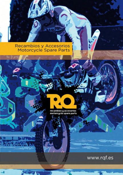 Catálogo de recambios y accesorios Motorcycle Spare Parts