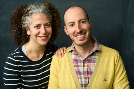 Directors Caroline Laskow & Ian Rosenberg (Photo by Larry Bercow)