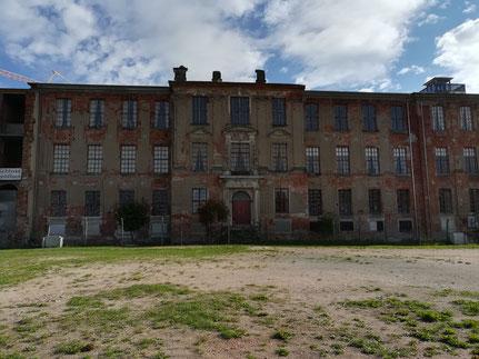 Reste des Ostflügels von Schloss Zerbst/Anhalt