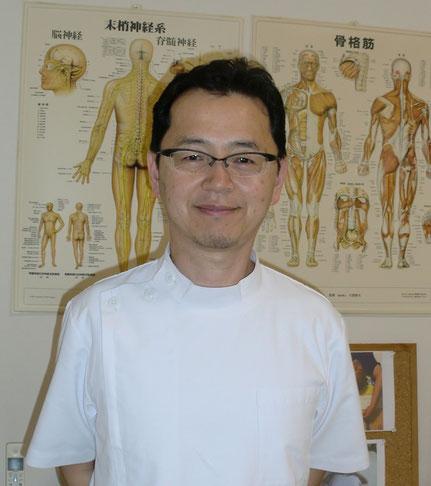 対症療法に疑問を持ち、根本療法であるしんそう療法でやっているしんそう福井武生院長、竹内則之